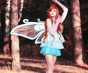 bloom, cosplay, and winx image