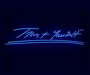 inspiration, quotes, and neon image