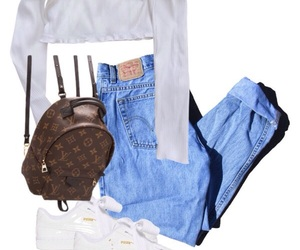 fashion, los angeles, and Polyvore image