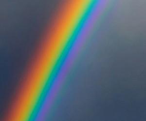 edit, overlay, and rainbow image