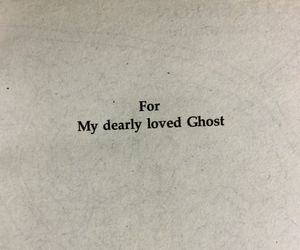 ghost, love, and quotes image