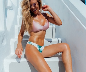 bikini, fun, and pretty image