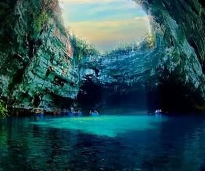 belleza, cueva, and naturaleza image