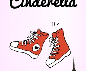 a cinderella story, butterfly, and converse image