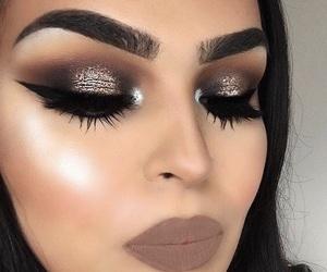 art, makeup, and eyeshadow image