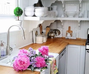 decor, kitchen, and fashion image