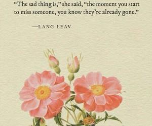 quotes, sad, and Lang Leav image
