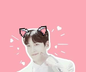 korean, pink, and kdrama image