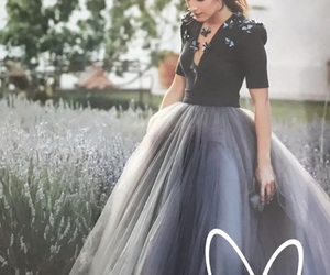 beauty, dress, and madrid image