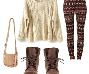 boots, fashion, and fall image