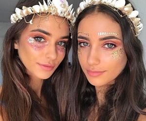 coachella, girls, and makeup image