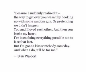 blair waldorf, deep, and heartbreak image