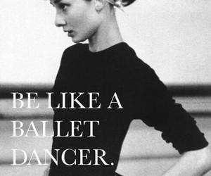 ballet, discipline, and audrey hepburn image