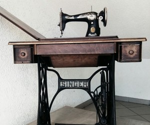 photography, sewing machine, and vintage image