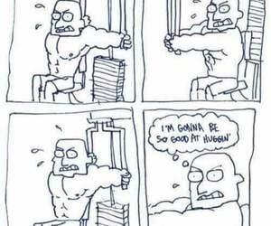 funny, lol, and gym image