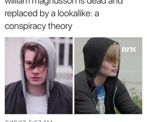 funny, skam, and william magnusson image