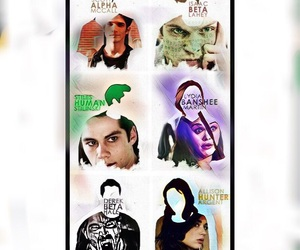 wallpaper, teen wolf, and lydia martin image