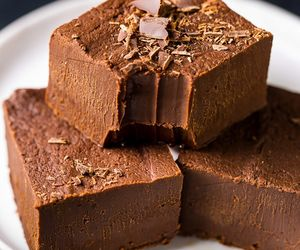 chocolate, chocolate fudge, and delicious image