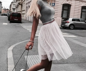 fashion, goals, and skirt image