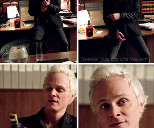 david anders, izombie, and blaine debeers image