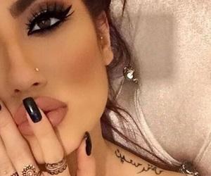 brunette, inspiration, and make up image
