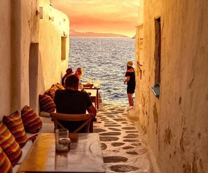 Greece, mediterranean, and view image