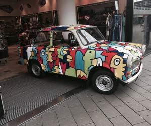 art, berlin, and car image