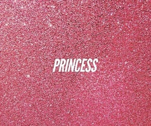 princess, pink, and glitter image