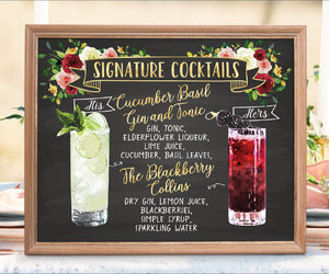 etsy, menu, and sign image