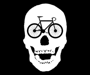 biking, cycling, and illustration image