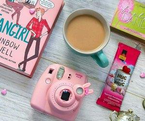 camera, coffee, and fujifilm image