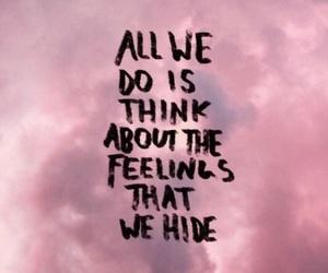 clouds, feelings, and hide image