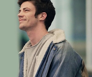 grant gustin, the flash, and barry image