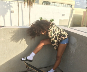 adidas, outdoors, and skater image