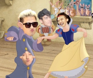 fairy tale, gd, and seungri image