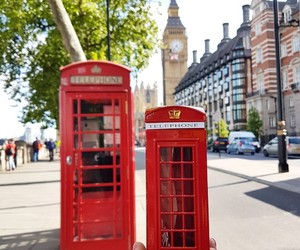 artistic, telephone, and london image