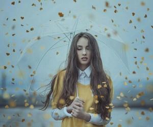 photograph, umbrella, and yellow image