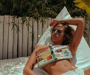 book, retro, and summer image
