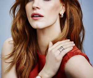 jessica chastain, actress, and ginger image