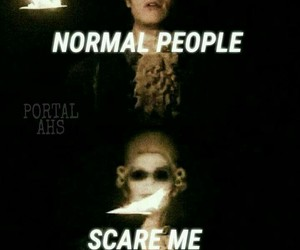 roanoke, evan peters, and ahs image