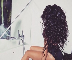 black girl, curly hair, and body image