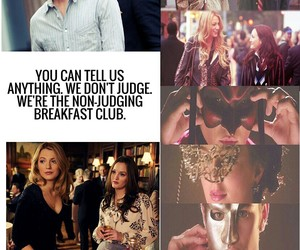 blair, chuck, and friendship image