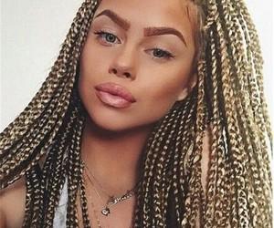 braid and makeup image