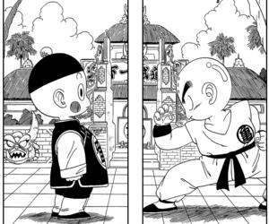 dragon ball, manga, and kuririn image