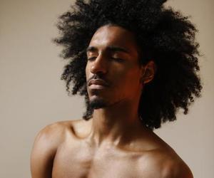 black, handsome, and men image