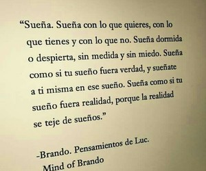 sueña, Dream, and frases image