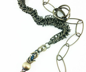 etsy, goth jewelry, and vintage necklace image