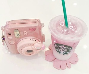 kawaii, starbucks, and photo image