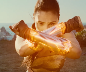 beauty, DC, and wonder woman image