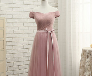 simple bridesmaid dresses image